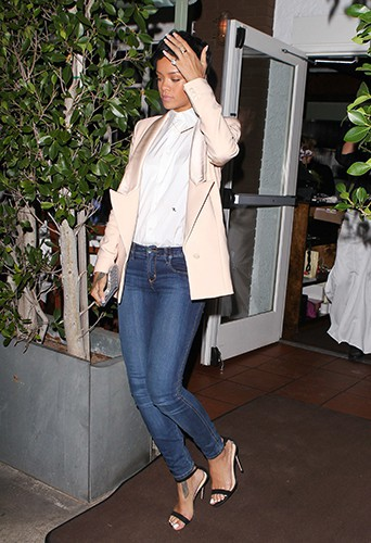 Rihanna à Los Angeles le 28 août 2013