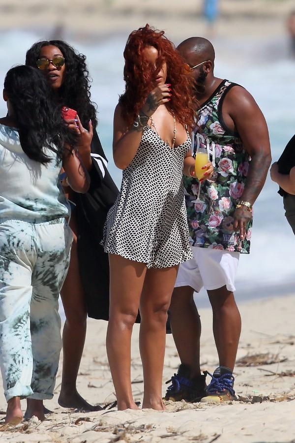 Rihanna à Hawai le 19 avril 2015