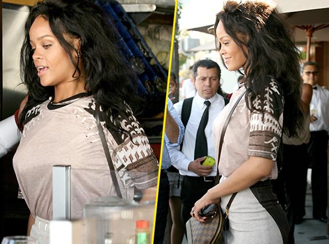 Photos : Rihanna : fini de pouponner, place aux affaires… avant de faire le plein de bières !