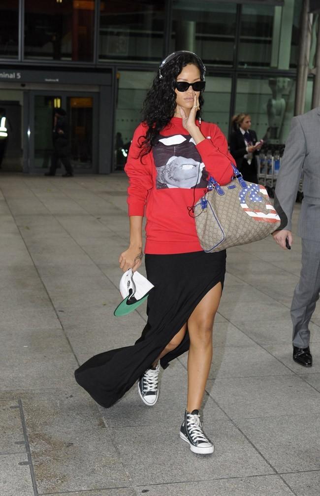 Rihanna le 27 août 2012 à Londres