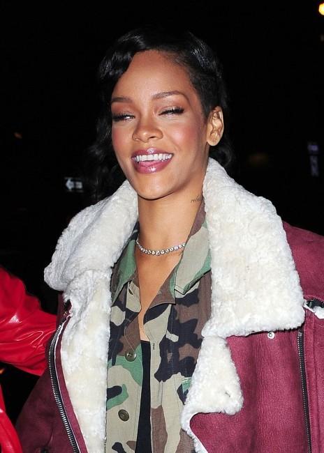 Rihanna à New York, le 8 novembre 2012.