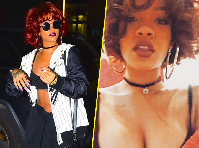Photos : Rihanna, icône des années 80 en mode Whitney Houston !