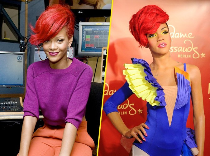 Photos : Rihanna : immortalisée dans la cire à Berlin !