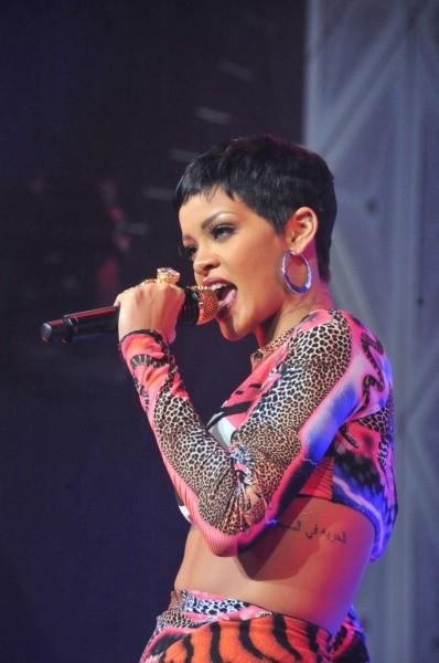 Rihanna, Azerbaïdjan, 6 octobre 2012.