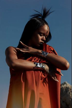 "Photos : Rihanna va dévoiler ce 30 juin le clip de ""Sledgehammer"", bande-originale du film Star Trek"