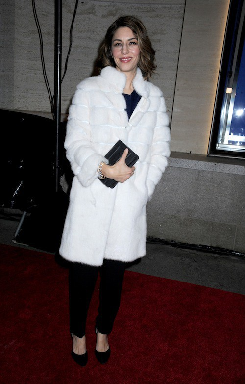 Sofia Coppola à l'ouverture du flagship Fendi à New York, le 13 février 2015