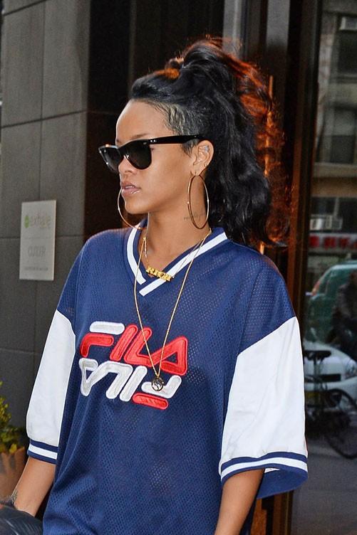 Rihanna à New-York le 9 novembre 2013