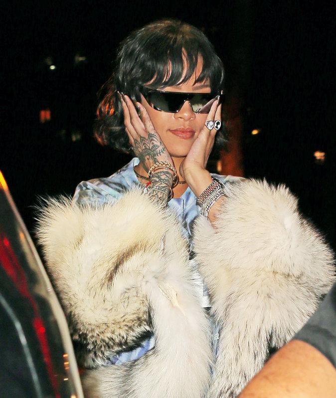 Rihanna : les joues gonfl�es apr�s une douloureuse visite chez ...