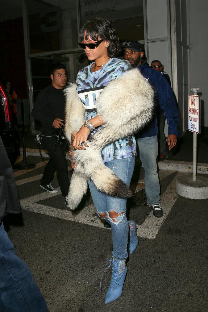 Rihanna à New York le 24 mai 2016
