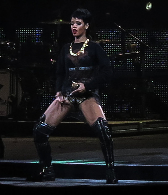 Rihanna lors du Diamonds World Tour