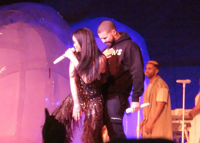 Rihanna et Drake en concert à Toronto le 14/04/2016