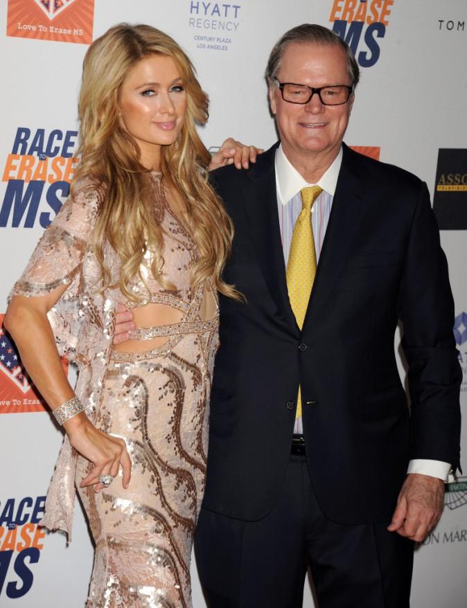 Paris Hilton et son père