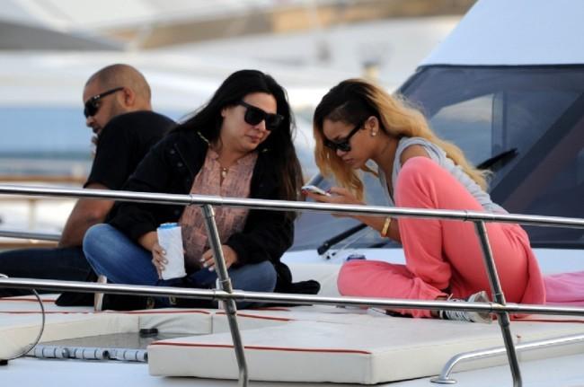 Rihanna le 30 mai 2013 à Istanbul