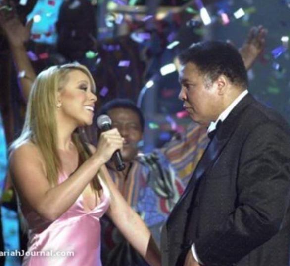 Mariah Carey et Mohamed Ali