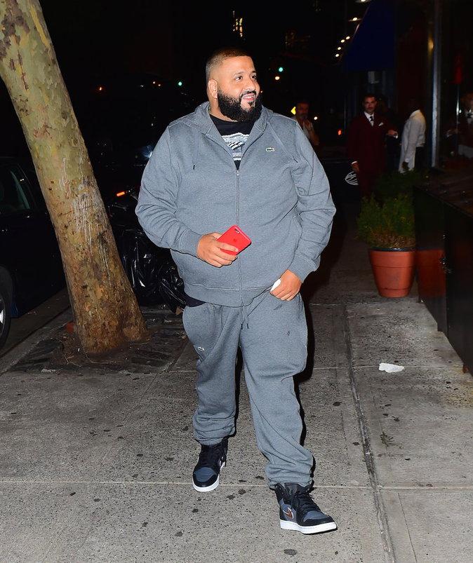 DJ Khaled à la sortie du restaurant italien le 6/10/16 à New-York