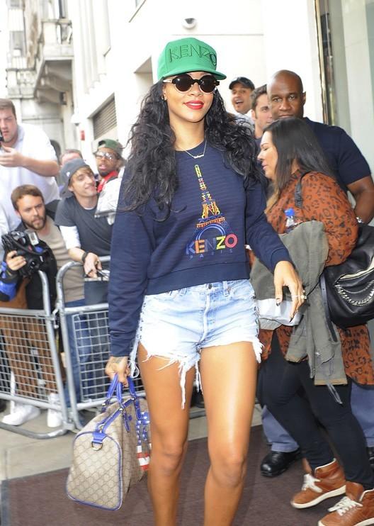 Rihanna à Londres le 28 août 2012