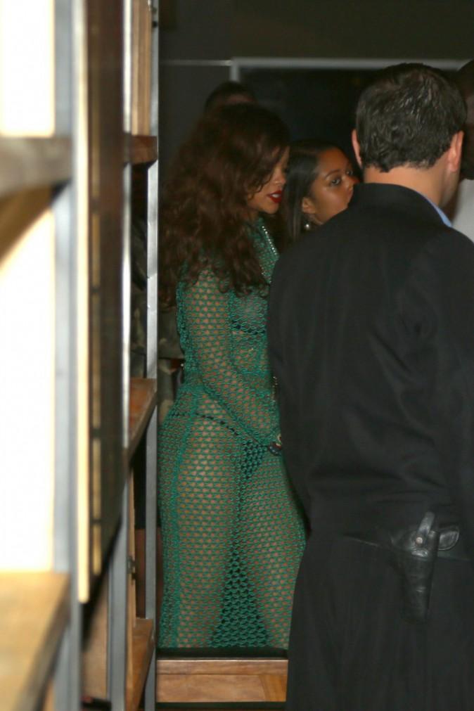 Rihanna au Brésil le 27 septembre 2015
