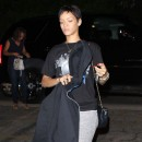 Rihanna à Los Angeles le 13 octobre 2012