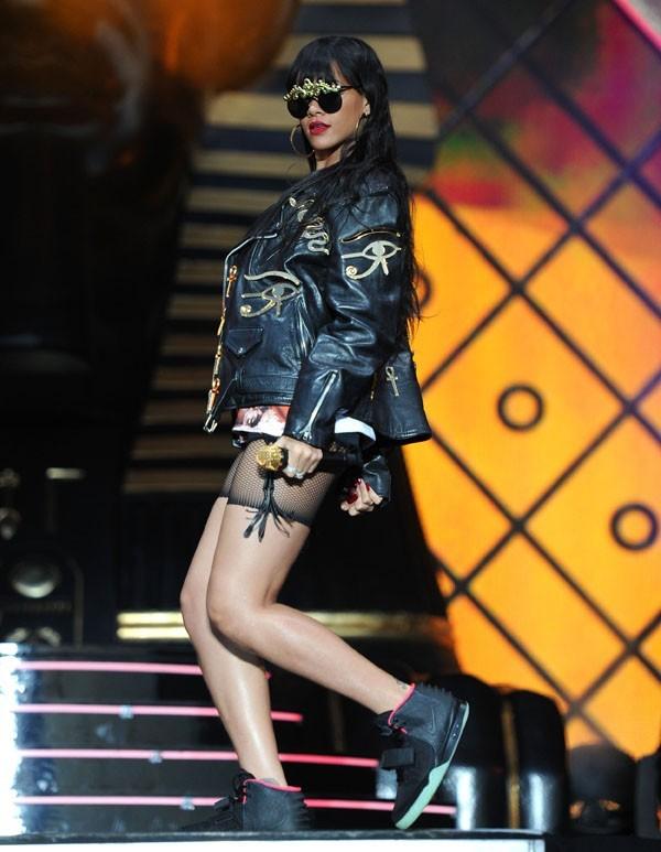 Rihanna au festival d'Hackney le 24 juin 2012