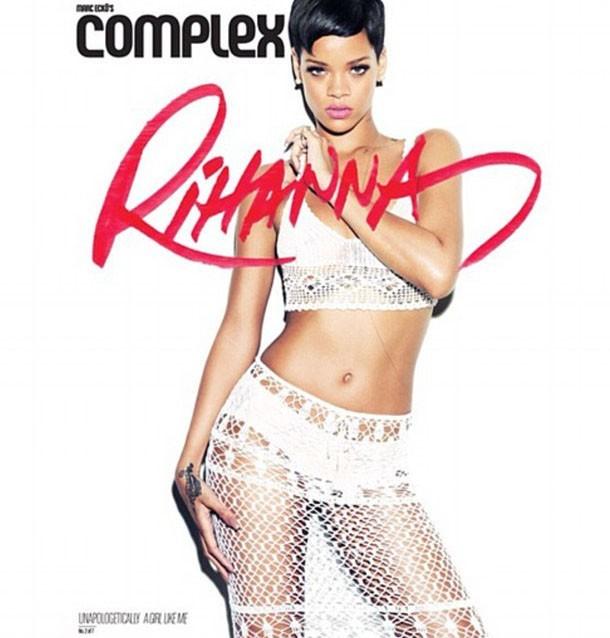 Rihanna en couverture du magazine Complex