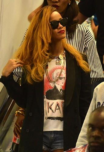 Rihanna à New-York le 9 mai 2013