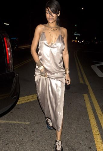Rihanna, à Santa Monica le 10 août 2014