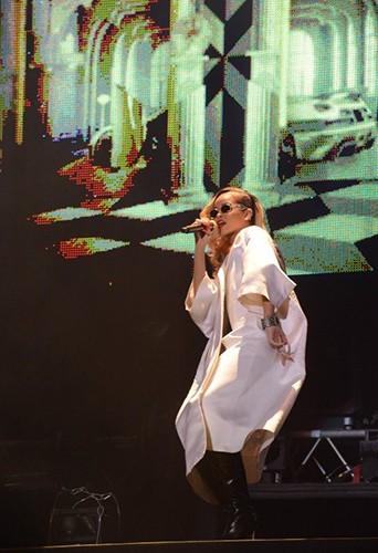 Rihanna à Rabat le 24 mai 2013