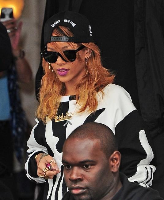 Rihanna à Amsterdam