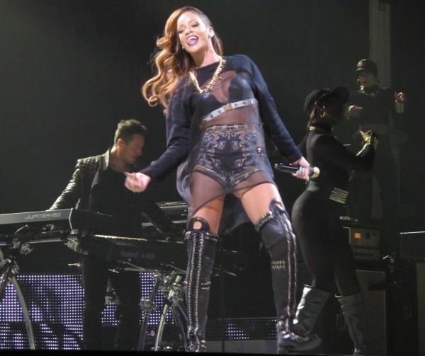 Rihanna en concert à Toronto, le 18 mars 2013.
