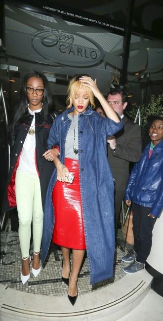 Rihanna à Manchester, le 11 juin 2013.