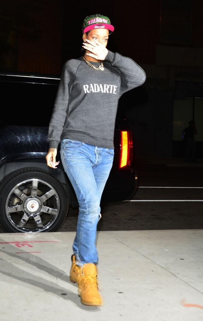 Rihanna à New York, le 17 juin 2012.