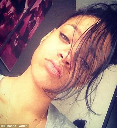 Rihanna fatiguée...