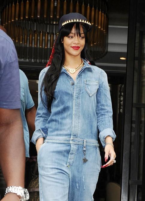 Rihanna à Londres le 26 juin 2012