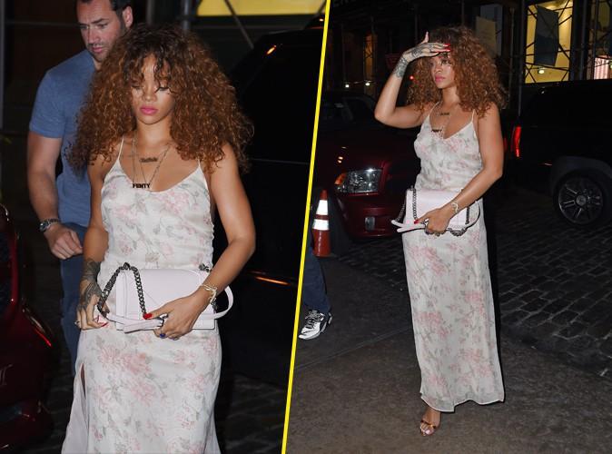 Rihanna à New York, le 16 juillet 2015