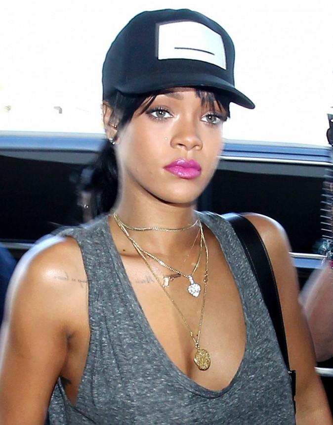 Rihanna à Los Angeles le 30 septembre 2014