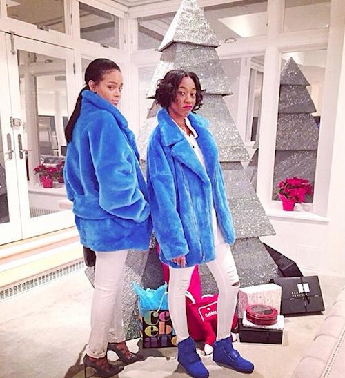 Photos : Rihanna : un Noël éblouissant !