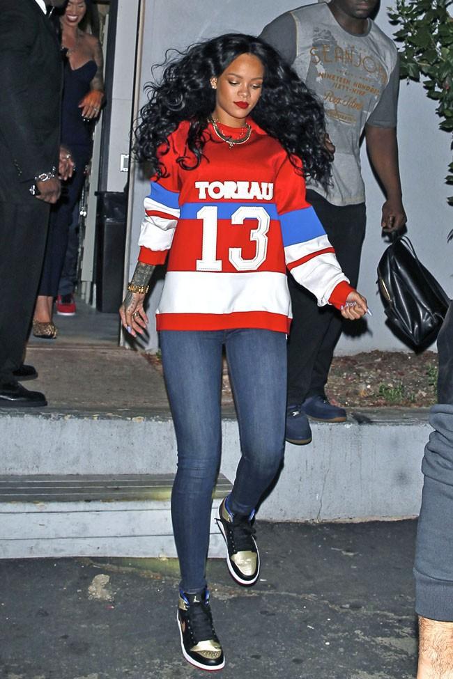 Rihanna à Los Angeles le 6 avril 2014