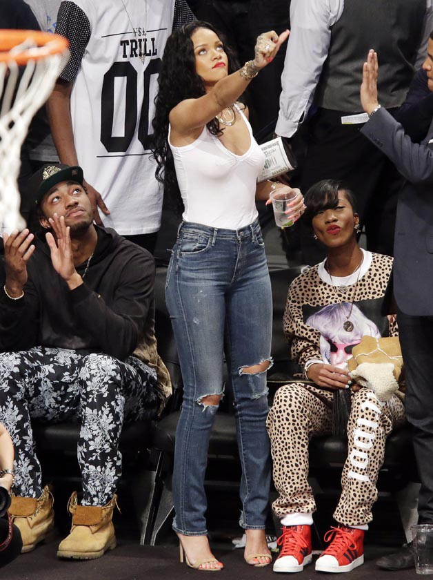 Rihanna au Barclays Center de New-York le 25 avril 2014