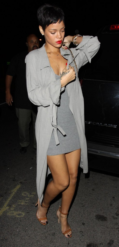 Rihanna à Los Angeles le 14 octobre 2012
