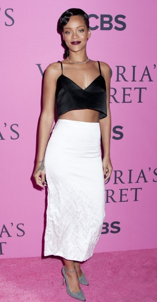 Rihanna lors du photocall Victoria's Secret à New York, le 7 novembre 2012.