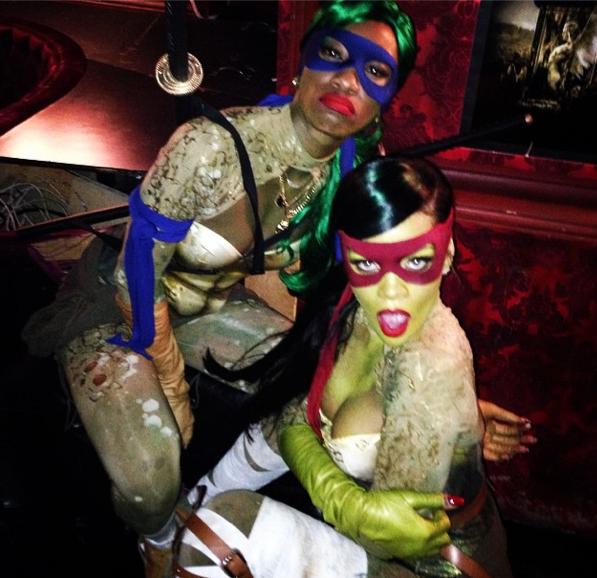 Photos : Rihanna : une Tortue Ninja so sexy !
