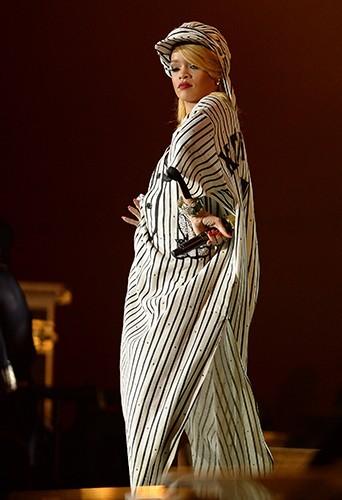 Rihanna à Roskilde le 4 juillet 2013
