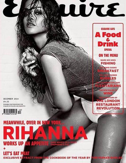 Rihanna en couverture du nouveau numéro d'Esquire UK