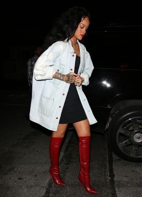 Rihanna à Santa Monica le 22 avril 2014