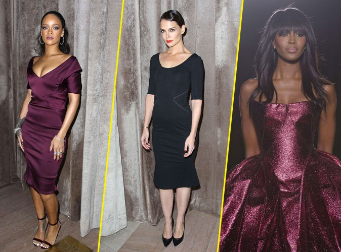 Photos : Rihanna vs Katie Holmes : fatales pour le sacre de Naomi Campbell chez Zac Posen !