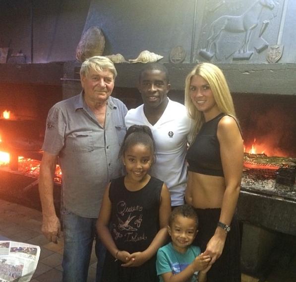 Rio Mavuba et son adorable famille !