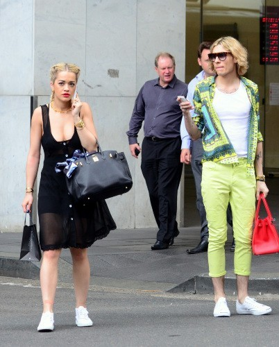 Rita Ora à Sydney, le 28 février 2013.