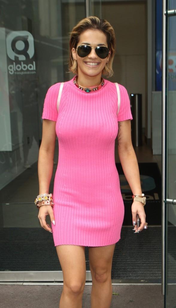 Rita Ora le 15 août 2012 à Londres