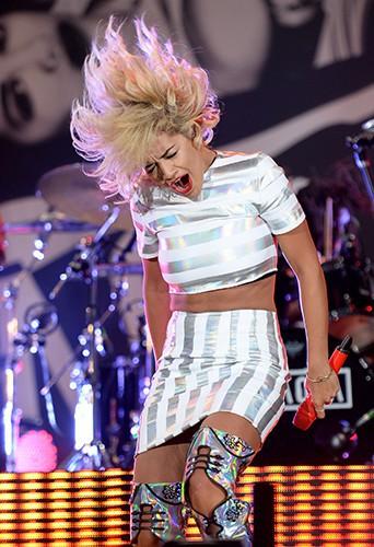 Rita Ora à Chelmsford le 18 août 2013