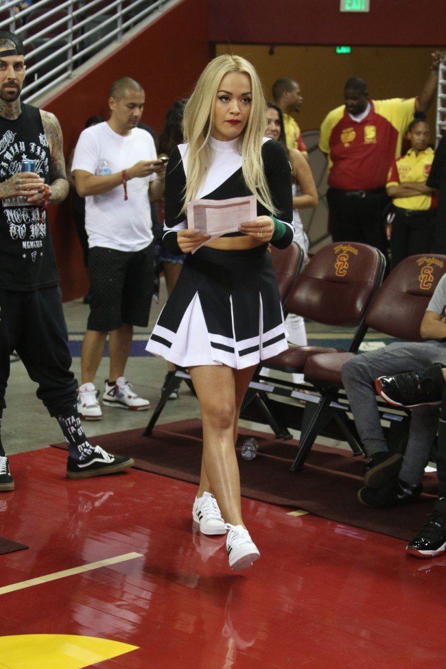 Rita Ora à Los Angeles le 20 septembre 2015